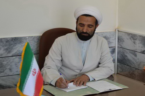 حجت الاسلام صولت حیدری - مسئول امور فرهنگی حوزه علمیه گناباد