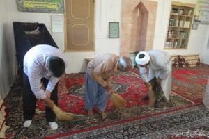 پاکیزه کردن مساجد