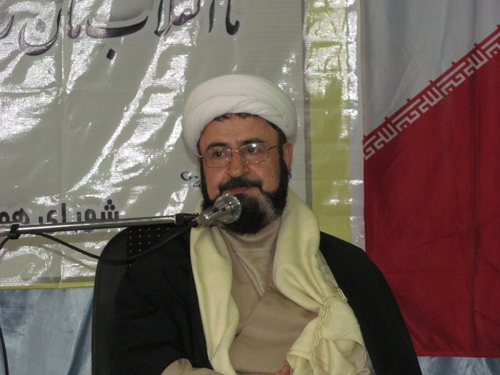 حجت الاسلام والمسلمین علی بهجت، در درس اخلاق مدارس علمیه شهرستان بابل