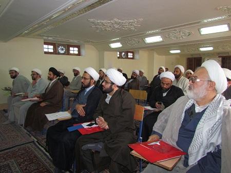 کارگاه دانش افزایی اصول مدیریتی ویژه مدیران مدارس علمیه استان گلستان