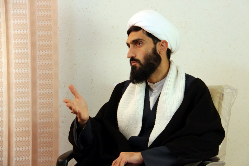 حجت الاسلام روح الله نوری مدیر اجرایی بنیاد فقهی مدیریت