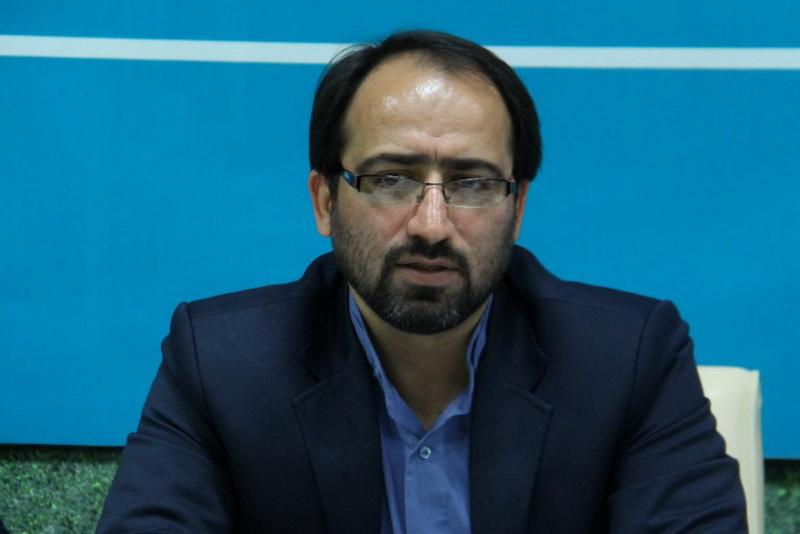 محمد حسنی رئیس مرکز فرهنگی هنری دفتر تبلیغات اسلامی