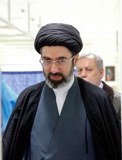 حجت الاسلام والمسلمین سید مجتبی خامنه ای