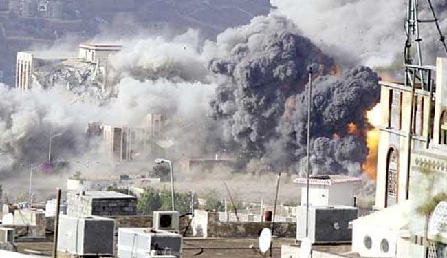 تصویر آرشیوی از بمباران یمن