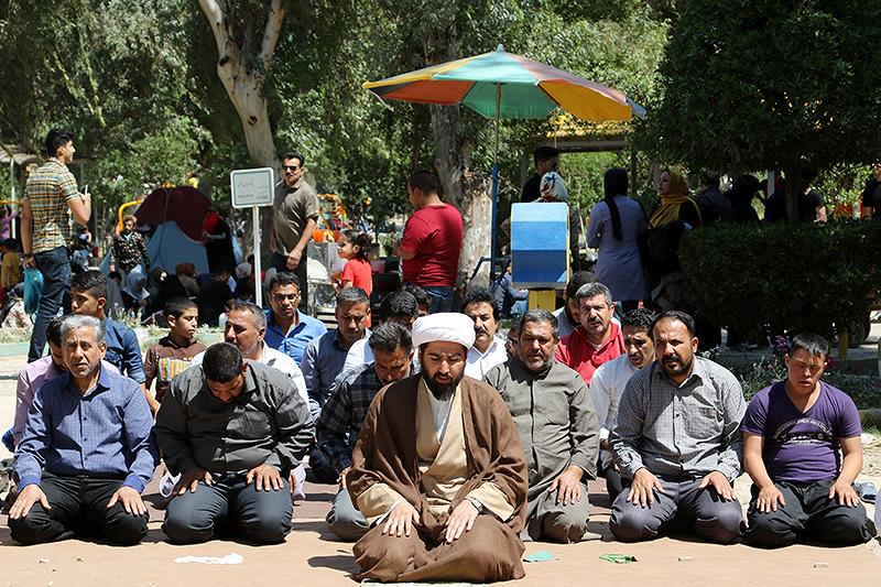 مبلغ جهادی تبلیغ در پارک های اهواز