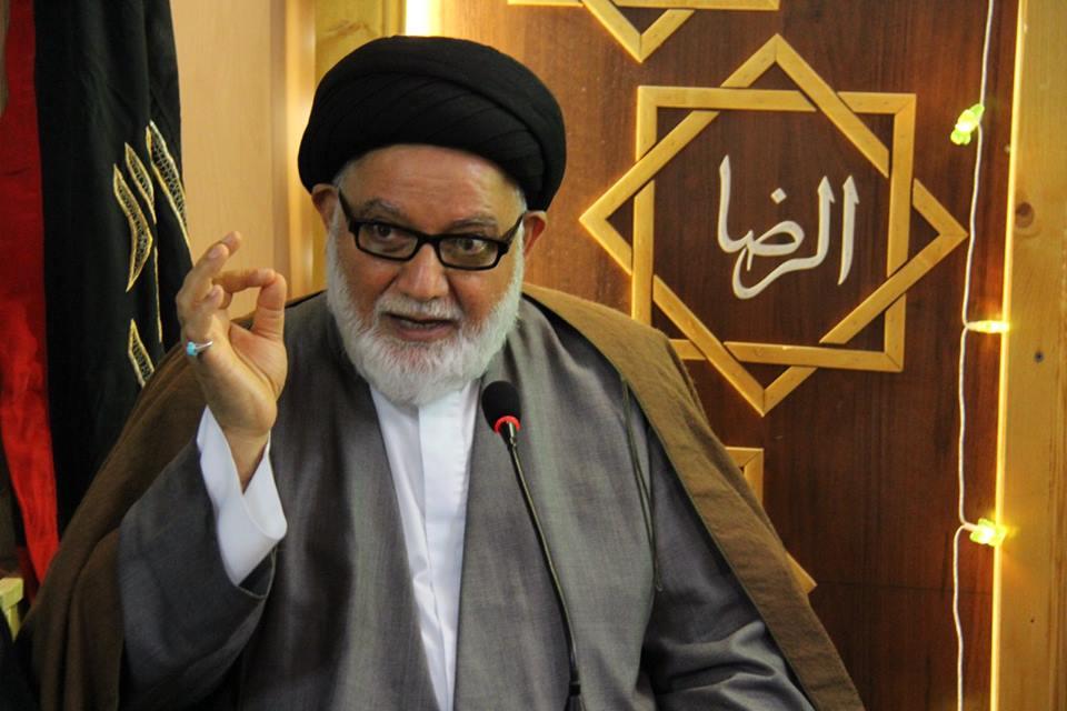 حجت الاسلام والمسلمین سید مرتضی کشمیری نماینده حضرت آیت الله سیستانی در اروپا