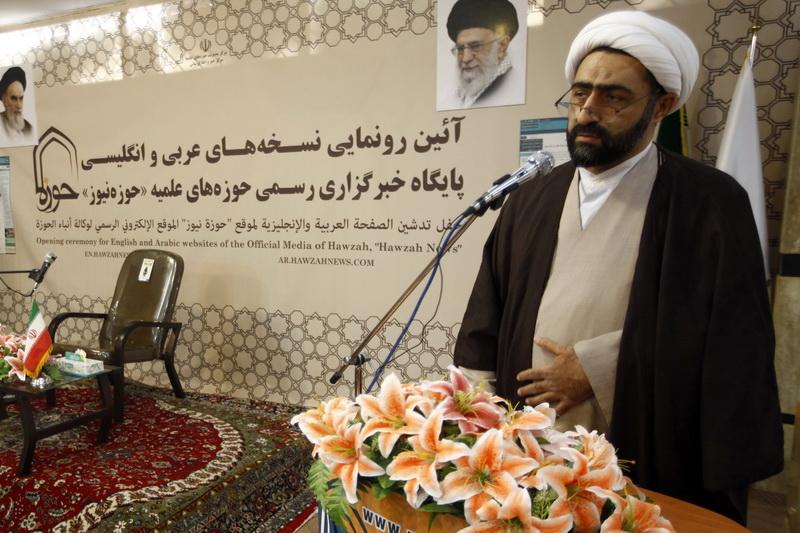 حجت الاسلام والمسلمین حسن مولایی مدیرعامل خبرگزاری حوزه