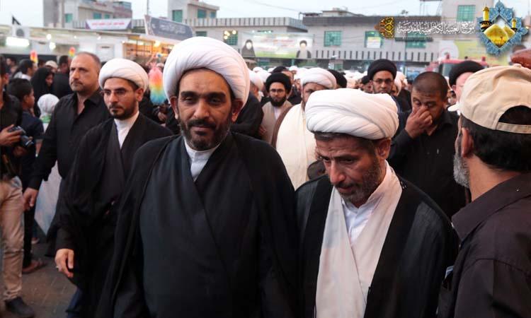 تبلیغ روحانیون در کاظمین