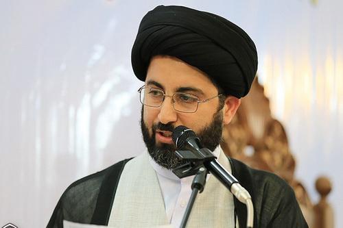 حجت الاسلام سید جعفر موسوی ، مدیر مدرسه علمیه ولی عصر اهواز