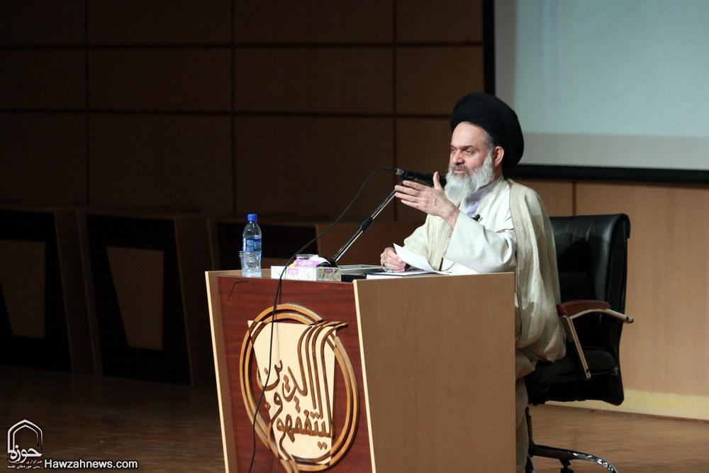 آیت الله حسینی بوشهری در اجلاس اساتید سطح یک حوزه