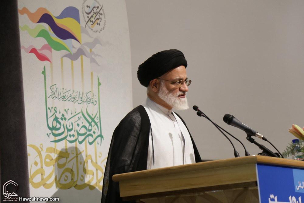 حجت الاسلام والمسلمین پورسیدآقایی  در دوازدهمین همایش بین المللی دکترین مهدویت