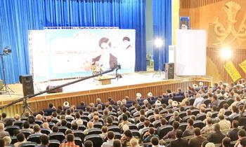 همایش اندیشه های امام خمینی در مسجد سلیمان