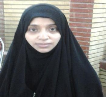 الهام المحاقری بانوی یمنی