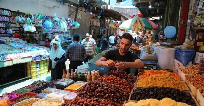 ماه رمضان غزه