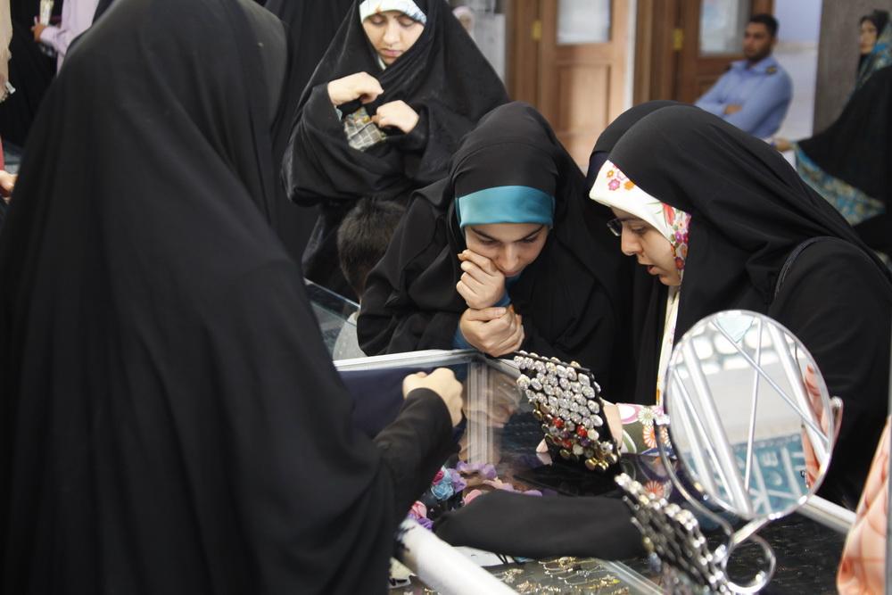 بخش عفاف و حجاب نمایشگاه قرآن