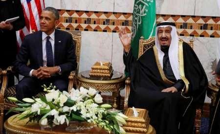 سران آمریکا و عربستان