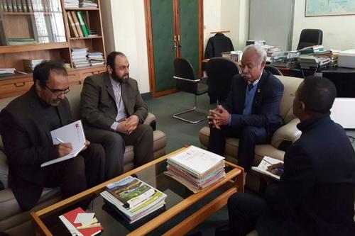 دیدار نماینده المصطفی با معاون وزیر علوم ماداگاسکار