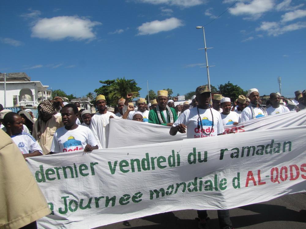 مراسم روز جهانی قدس در مجمع الجزایر کومور