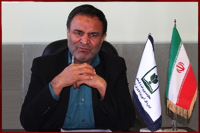 محمد نظری ـ دبیر منطقه ۳ ستاد همکاریها