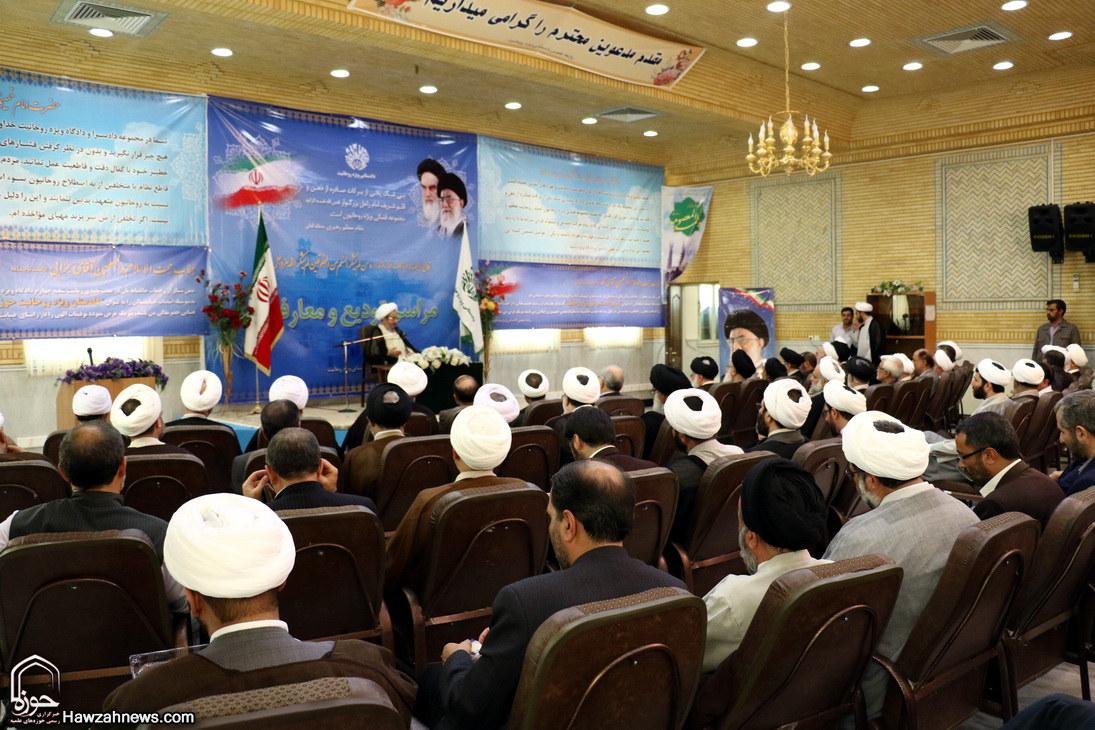 تصاویر/ مراسم  تودیع و معارفه رئیس دادگاه ویژه روحانیت قم