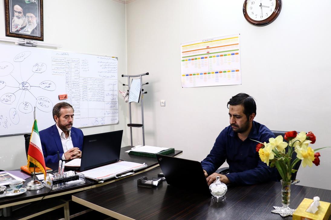 """دکتر محمدتقی دشتی موسسه """"صراط مبین"""""""