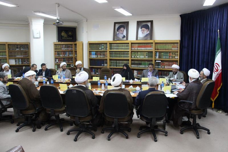 آیت الله علیرضا اعرافی، در دومین نشست فصلی ستاد همکاری حوزه های علمیه و آموزش و پرورش