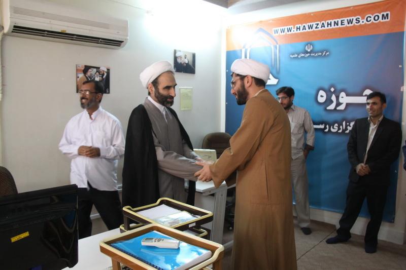 بازدید حجت الاسلام مبلغی از خبرگزاری حوزه