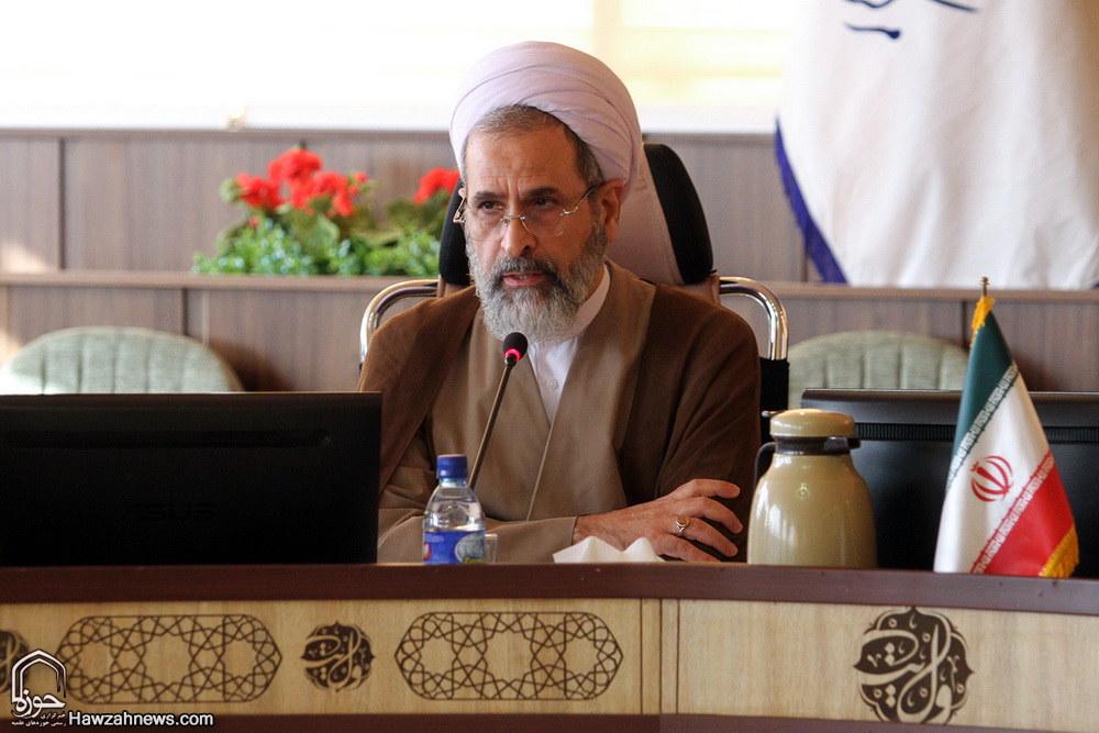 آیت الله اعرافی در اجلاس مدیران حوزه های علمیه سراسر کشور در مشهد مقدس