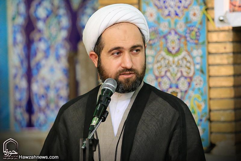 حجت الاسلام قربانی ، مدیر مدرسه علمیه امام خمینی (ره) اهواز
