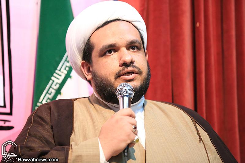 حجت الاسلام پشم فروش در همایش بررسی مسائل بینالملل در جهان اسلام