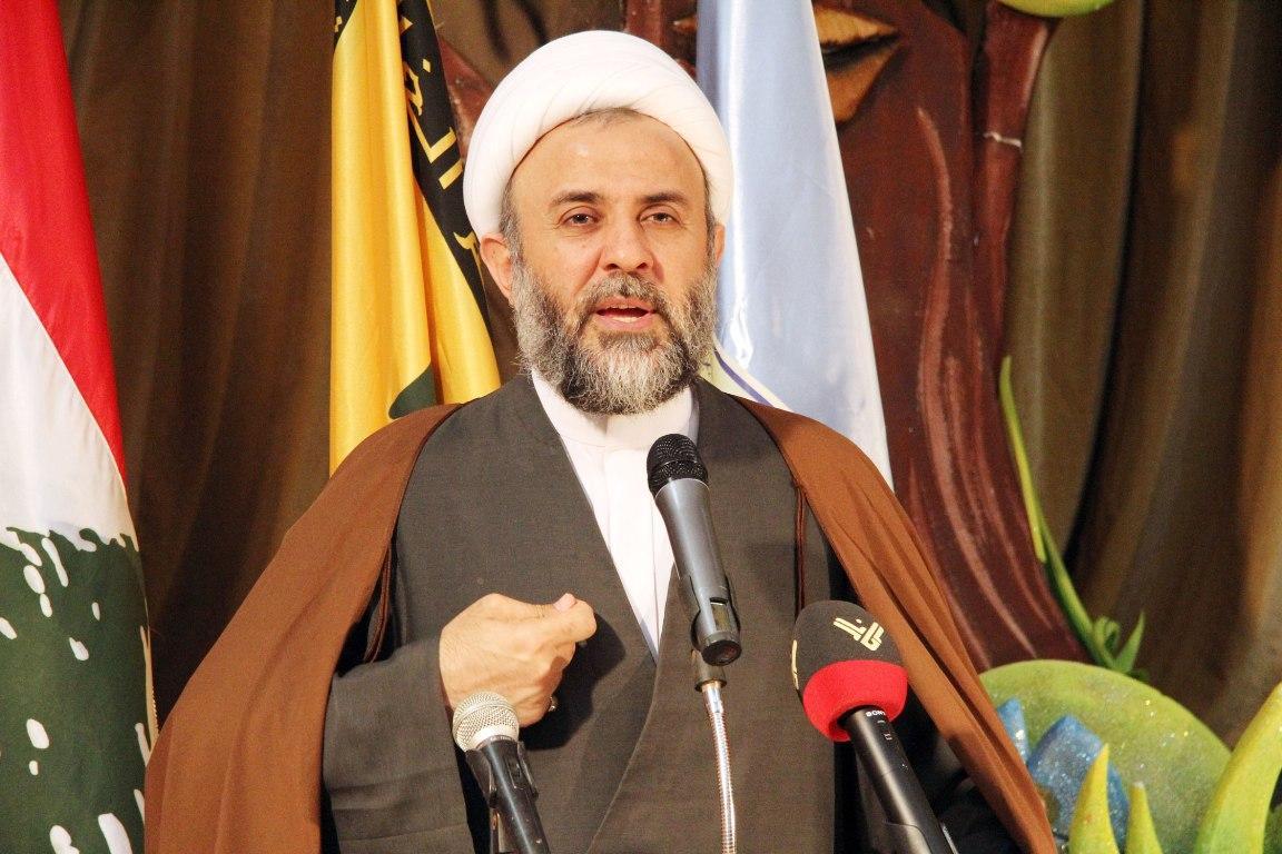 حجت الاسلام والمسلمین نبیل قاووق، نایب رئیس شورای اجرایی حزب الله لبنان