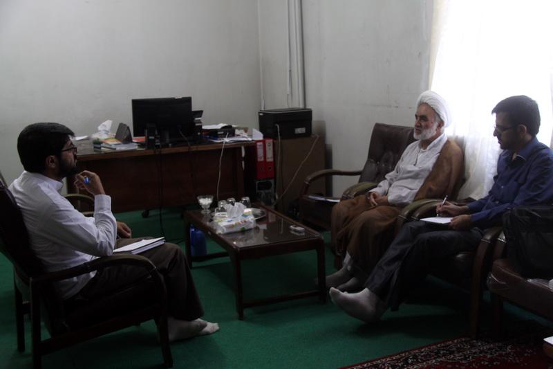 حجت الاسلام والمسلمین قدرت انصاري، مدیر گروه آیات الاحکام پژوهشکده باقرالعلوم