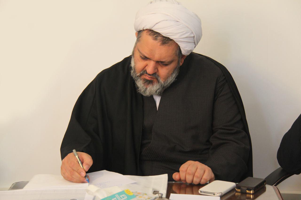 حجت الاسلام جمشیدی مدیر حوزه خواهران