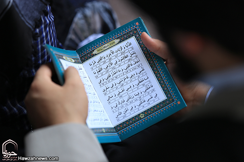 شور مناجات خوانی مردم اهواز در دعای پرفیض عرفه