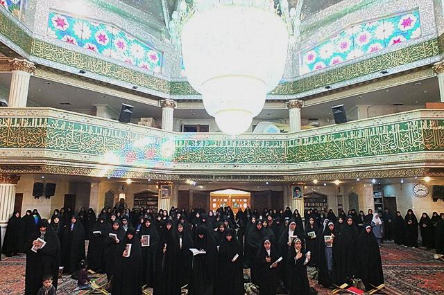 مسابقات قرآن  بانوان