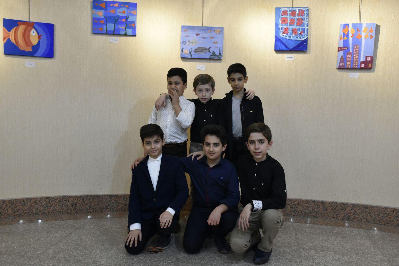 نمایشگاه هنرهای تجسمی با موضوع خلاقیّت کودکانه