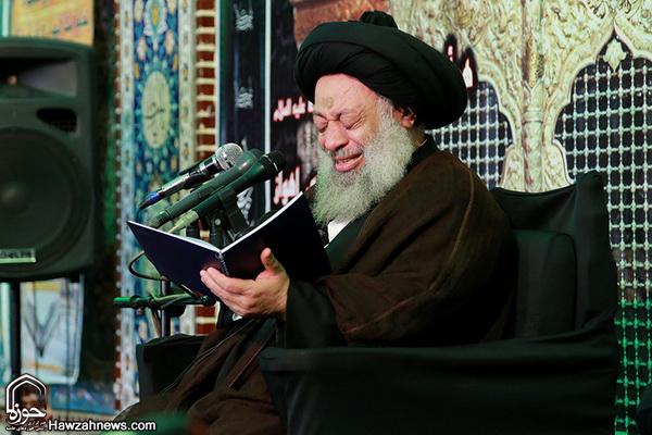 مقتل خوانی آیت الله موسوی جزایری