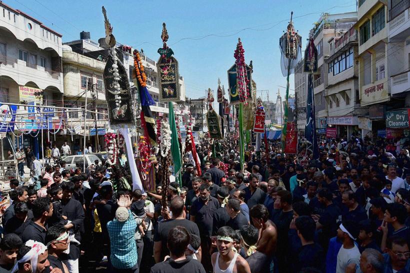دستجات عزاداری در بوپال هند