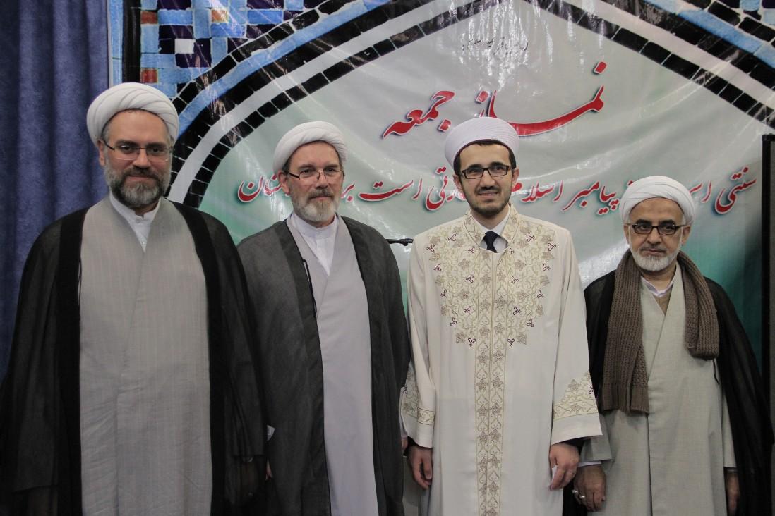 حضور رییس جدید جامعه اسلامی اتریش در مرکز اسلامی وین
