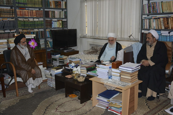 حجت الاسلام و المسلمین ربانی در دیدار با نماینده ولی فقیه در استان گیلان گیلان