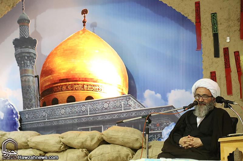 اولین سالگرد شهادت روحانی مدافع حرم، حجت الاسلام حسن زاده در خرمشهر