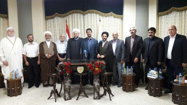 گزارشی از سفر اعضای انجمن مطالعات سیاسی حوزه به لبنان