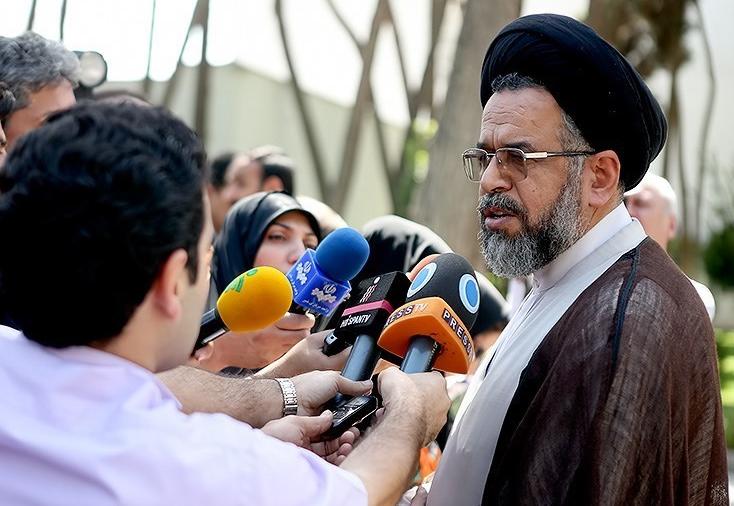 حجت الاسلام و المسلمین سید محمود علوی ، وزیر اطلاعات