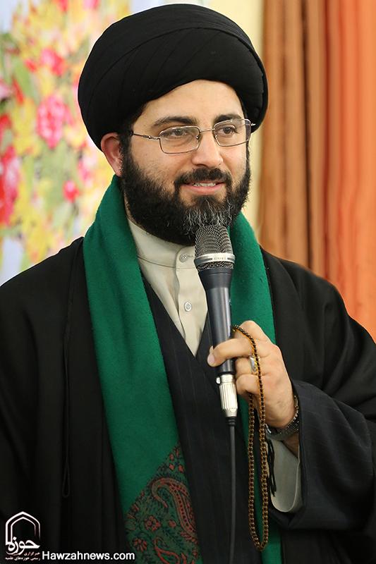 حجت الاسلام موسوی ، مدیر مدرسه علمیه ولی عصر (عج) اهواز