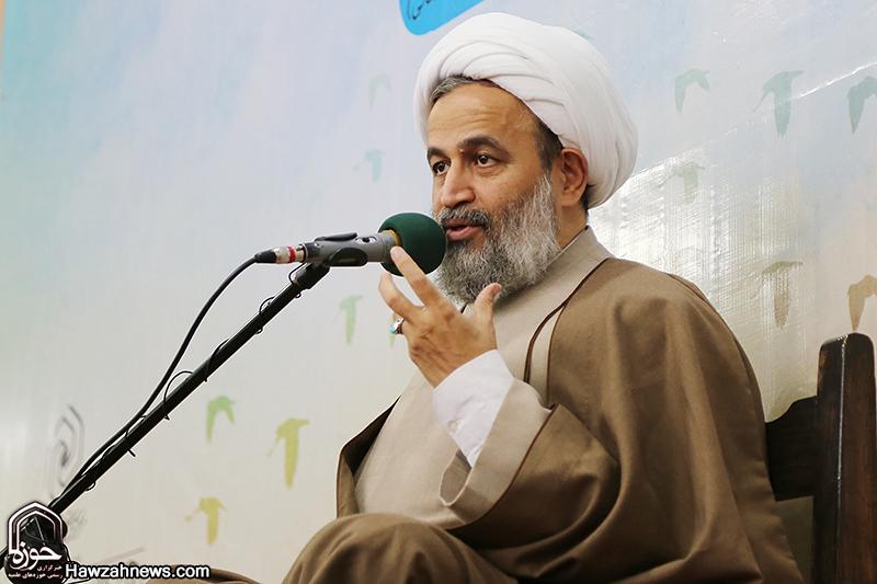 سخنرانی حجت الاسلام و المسلمین پناهیان در مراسم بزرگداشت بانوان شهیده طریق الحسین در اهواز