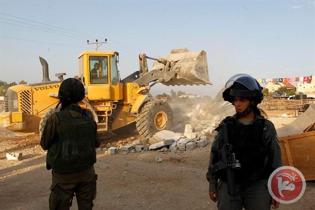 اسرائیل ۱۱ منزل مسکونی دیگر فلسطینیان را تخریب کرد