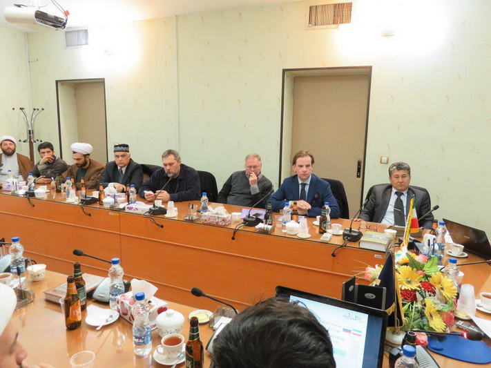 نشست مناسبات فرهنگی- تمدنی روسیه و ایران در جهان اسلام در جامعه المصطفی