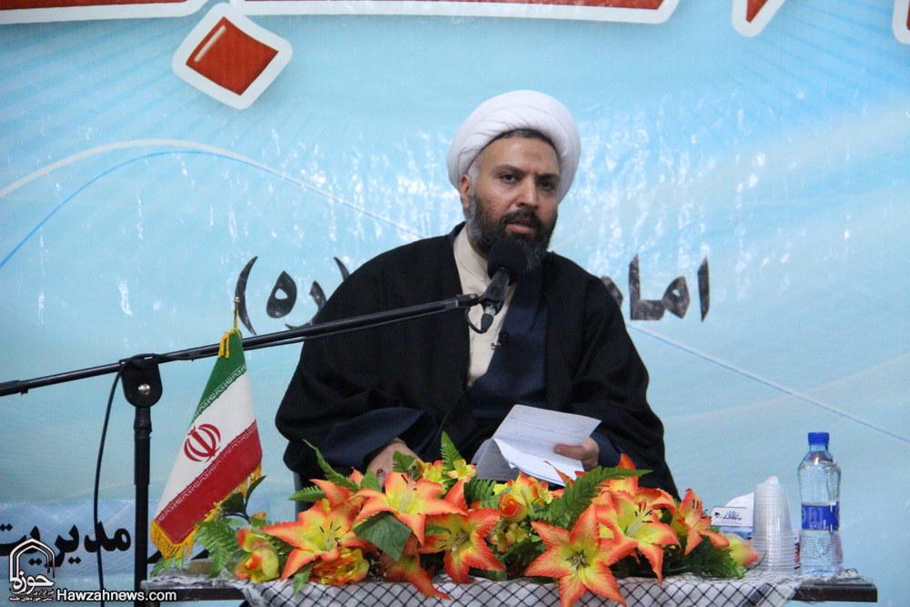 تصاویر/ مراسم جشن انقلاب در مدرسه علمیه فیضیه