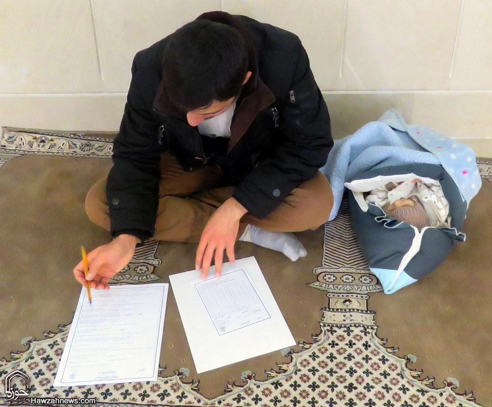 تصاویر/ مسابقه بزرگ کتابخوانی با موضوع نماز