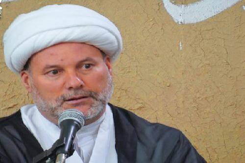 حجت الاسلام والمسلمین فضیل الجزایری روحانی  اهل  الجزایر